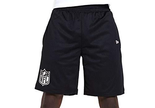 New Era Herren NFL Jersey Short Nflgen Kurze Hose, schwarz, XXXL