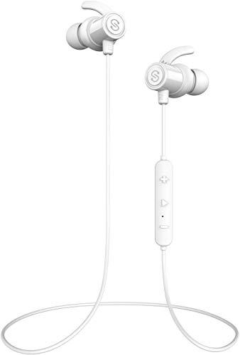 【IPX7完全防水 防汗進化】SoundPEATS(サウンドピーツ) Q30Plus Bluetooth イヤホン 高音質 低音重視 8時間連続再生 aptXコーデック採用 人間工学設計 マグネット搭載 CVC6.0ノイズキャンセリング マイク付き ハンズ