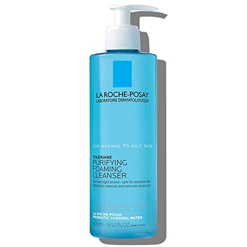 La Roche-Posay Toleriane Face Wash Cleanser, Purifying Foaming Cleanser for Normal Oily & Sensitive...