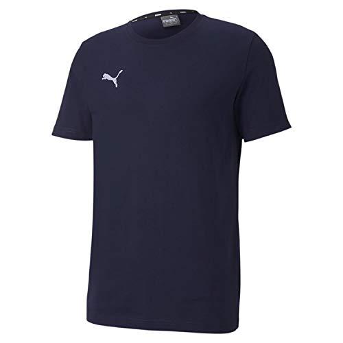 PUMA Herren teamGOAL 23 Casuals Tee T-shirt, Peacoat, XXL