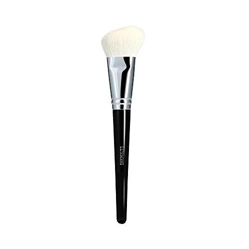 T4B LUSSONI 300 Series Pinceaux Maquillage Professionnel Pour Bronzeurs, Enlumineurs, Fards A Joues, Blush, Poudres Et Contouring, En Forme Ronde Et Coudée (PRO 300 Pinceau blush angulaire)