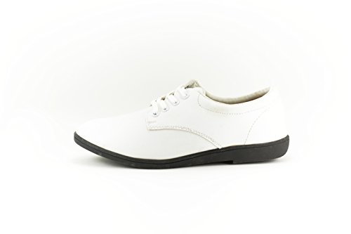 Bando Classic Women's Marching Band Shoes (10.5, White with Black Soles)