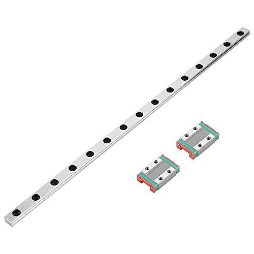 MGN9B 300mm Linearführungsschiene Lineare Gleitführung 9mm Breite mit 2 stücke MGN9B Schienenblock für DIY 3D Drucker und CNC Maschine