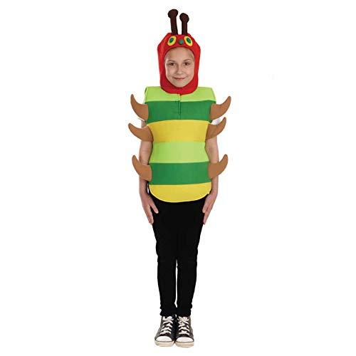 Fun Shack Grüne Raupe Kostüm für Jungen und Mädchen - Klein