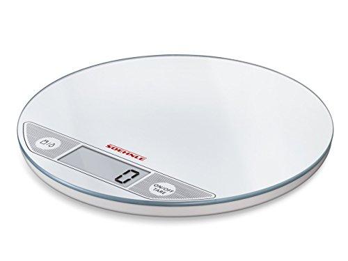 Soehnle Flip, Blanco, CR 2032, Acero inoxidable - Báscula de cocina