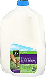 365 Everyday Value, Organic 2%  Fat Milk, 128 oz (Packaging May Vary)