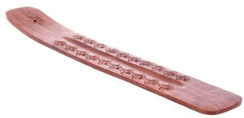 Pick2Basket Wooden Incense Stick Holder Ash Catcher Wood Joss Burner Home...