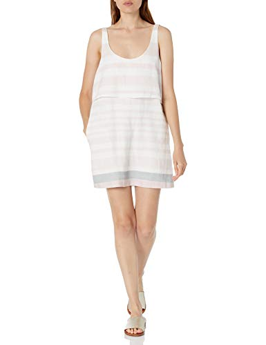 Mara Hoffman Women's Overlay Mini Dress, Sage/Multi, 2