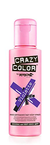 Crazy Color Violette Nº 43 Crema Colorante del Cabello Semi-permanente