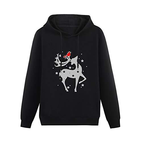 ZHONGMIN Unisex Winter Reindeer horro Halloween Costume Cosplay Sweatshirt