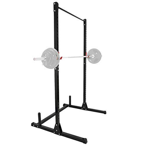 F2C Adjustable Height Power Squat Rack Cage Stand System Strength Deadlift Power Lifting Weightlifting...
