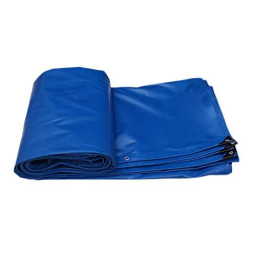 HMLIFE Bâche Heavy Duty Double-face Imperméable En Tissu Imperméable À L'eau En Plein Air Extérieure Coupe-Vent En Tissu Camion Voiture Bâche Bâche Antidérapante Camping Tente Tente