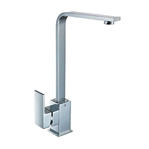 AMRT Grifo Grifo de Cocina con función de Filtro de Agua de la Palanca de Doble Palanca sin Plomo Accesorios de baño y Cocina cepillados
