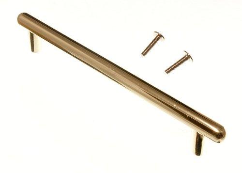 porte de l'armoire de cuisine tirez t guidon en laiton plaqué eb 128mm (pack 2)