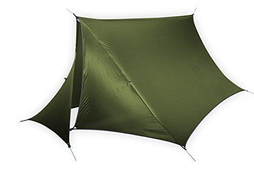 ENO, Eagles Nest Outfitters HouseFly Rain Tarp, Ultralight Camping Tarp, Lichen