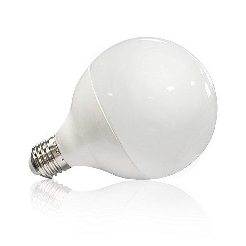 Vision-EL 77436B Ampoule LED E27 Globe 20W 4000°K, Aluminium/PC + Verre, 20 W, Dépoli