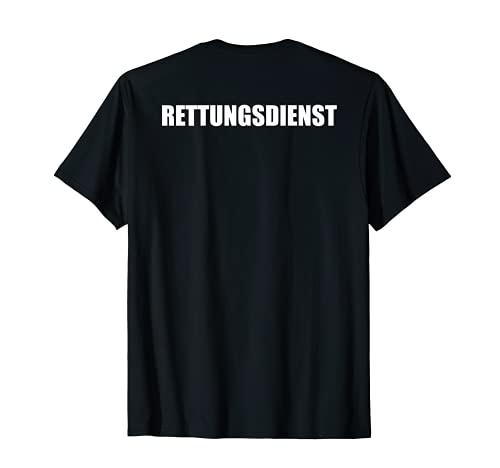 Rettungsdienst Herren Damen Kinder RTW T-Shirt
