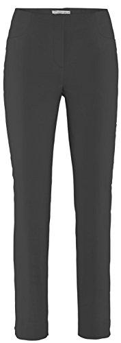 Stehmann LOLI-742 schwarz, Bequeme, stretchige Damenhose, mit etwas schmalerem Beinverlauf. 44