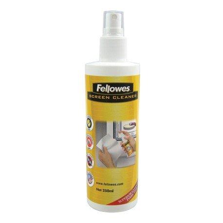 Fellowes 250ml Screen Cleaning Spray LCD/TFT/Plasma Limpiador de aire comprimido para limpieza de equipos - Kit de limpieza para ordenador (Limpiador de aire comprimido para limpieza de equipos, LCD/TFT/Plasma, 52 mm, 52 mm, 188 mm, 250 ml)