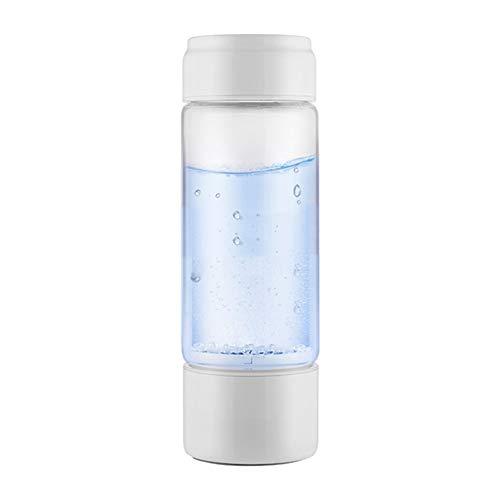 RNGNB waterstofrijke waterbeker, draagbare waterkoker waterstoffles 350 ml waterstofzuiger met accu Smart Water Bottle