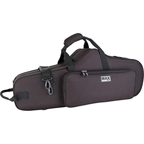 New Improved Fit! Protec MX305CT Max Tenor Saxophone Case with Backpack Straps, Black