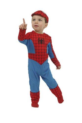 Déguisement spiderman 24 mois taille : 12/18 mois