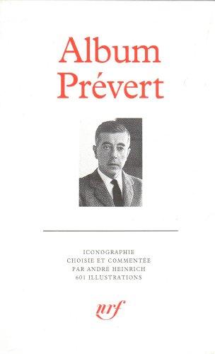 Album Jacques Prévert