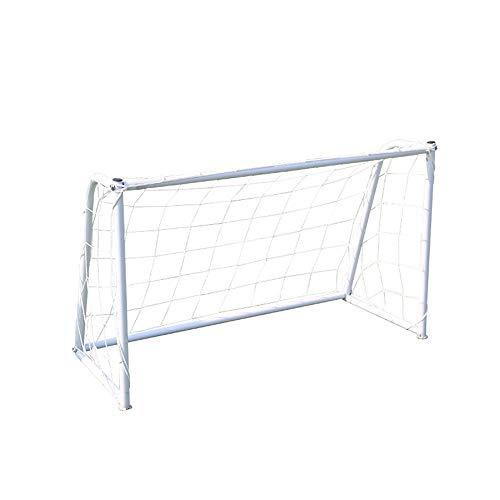 Red de Futbol Objetivo portátil extraíble Red de fútbol for niños de instalación rápida de Acero niños GOL de fútbol for el hogar Clubes y Entrenadores Portería de balón de fútbol Plegable de fútbol