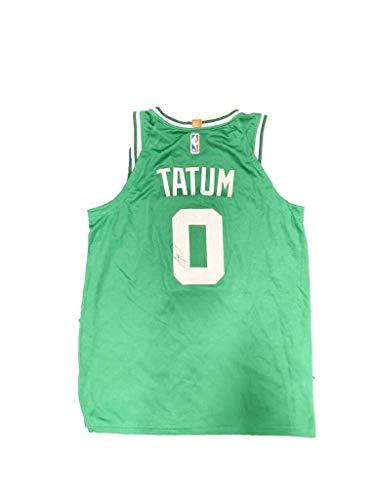 Jayson Tatum Signed Boston Celtics (Away Green) Jersey JSA - Autographed NBA Jerseys
