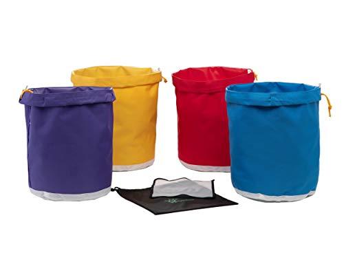 Hyindoor 20L 5 Gallon 4 Beutel Bubble Bag Kräutereis Essence Extraktion Beutel Kit mit Presssieb und Tragetasche