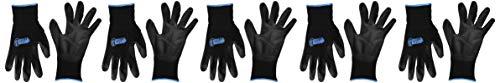 Gorilla Grip Slip Resistant All Purpose Work Gloves | Size: Medium | Pack of 5 Pairs of Gloves