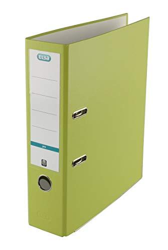 ELBA Ordner smart Pro 8 cm breit DIN A4 hellgrün