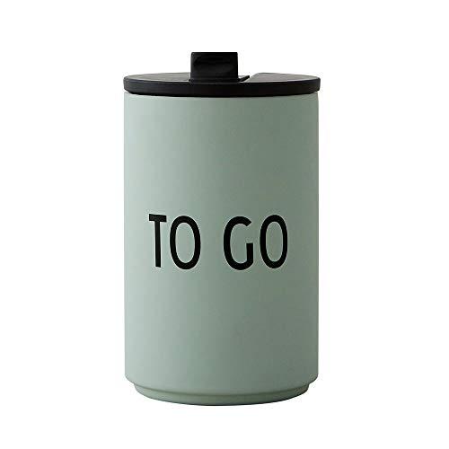Design Letters Trinkbecher/Isolier Becher to GO (Grün) 350 ml