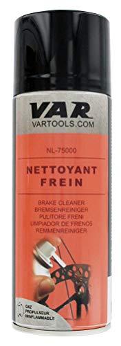 Var VR75000 - Limpiador De Discos Freno aerosol, 300 ml