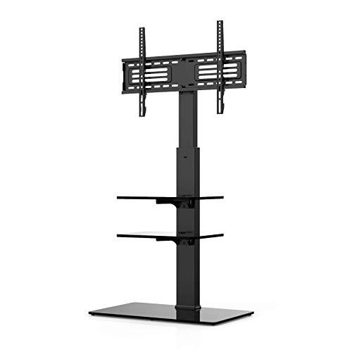 FITUEYES TV Ständer TV Bodenständer Fernseher Stand für 32 bis 65 Zoll Drehbar Höhenverstellbar Max.VESA 400x600 TT307001MB