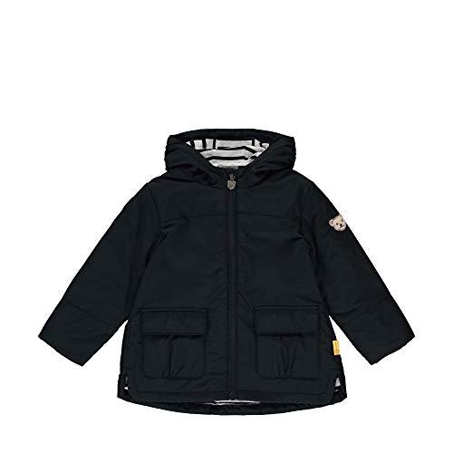 Steiff Jacke Jacket, Bleu (Black Iris 3032), 51 Garçon