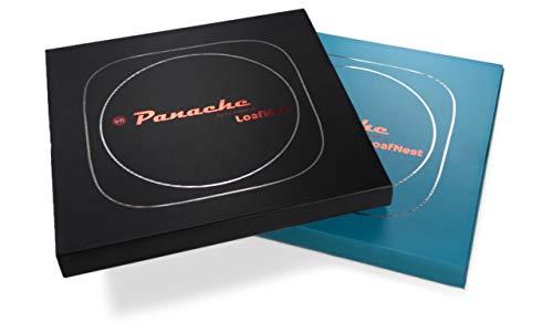 Panache - Plancha premium de hierro fundido esmaltado (Gradiente azul) El sartén de fácil uso para hacer Dosa, Tortilla, Crepe, Pancake, Chapati y otros panes planos y panqueques