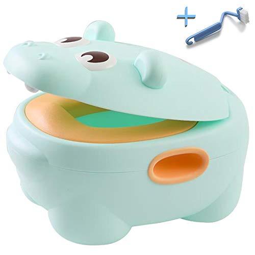 HIPPOTTY Vasino Per Bambini Design 2020 3a Generazione Water WC Riduttore Portatile Da Viaggio Antiribaltamento Ergonomico Training Toilette Bimbo Neonato