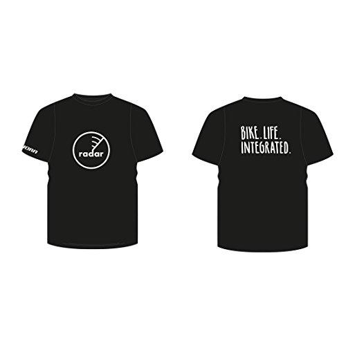 Winora Group Herren T-Shirt Radar schwarz, XXL