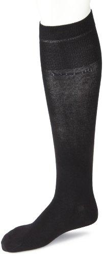 bugatti Herren Socken 6701 / bugatti soft cotton long socks, Gr. 39-42, Schwarz (black 610)