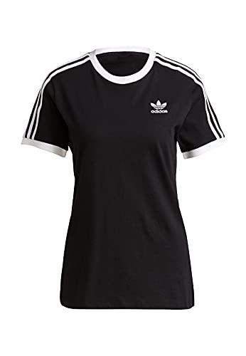adidas GN2900 3 Stripes tee T-Shirt Womens Black 44