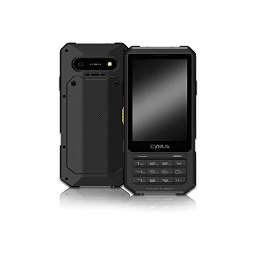 Cyrus CM17 HYBRID Outdoor Smartphone, Android 7.0 Nougat, 2500 mAh Akku, Dual SIM, 3,5 Zoll, 8GB, SOS Taste, stoßfest, staubdicht, wasserdicht, schwarz