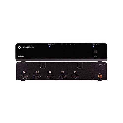 Review Of Atlona AT-RON-444 | 4K HDR Four Output HDMI Distribution Amplifier