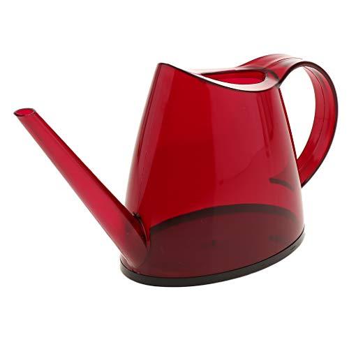 Fenteer Gießkanne, Klassisches Design - rot
