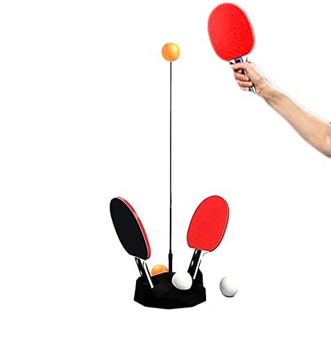 Tenis de mesa para niños y adultos con 2 raquetas y 6 pelotas de ejercicio para entrenamiento