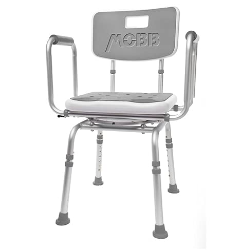 MOBB Premium Bathroom Swivel Shower Chair