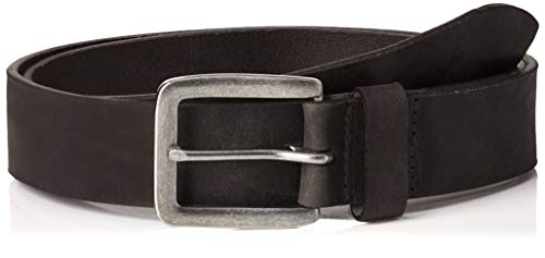 Jack & Jones heren riem Jacvictor Leather Belt Noos - zwart - 105