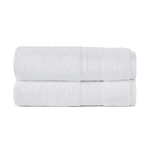 TRIDENT Juego Toallas de baño - Soft & Plush - 100% algodón,...