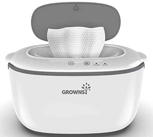 Wipe Warmer | Wipe Dispenser | Baby Diaper Warmer | Wipes Holder BPA-Free with 2 Modes Control, Evenly and Quickly Top Heating, Large Capacity, Silent for Baby, Perfect Warmth