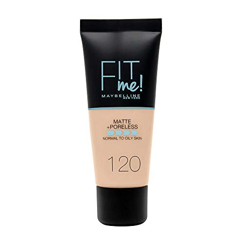 Maybelline New York - Fit Me, Base de Maquillaje Mate Afina